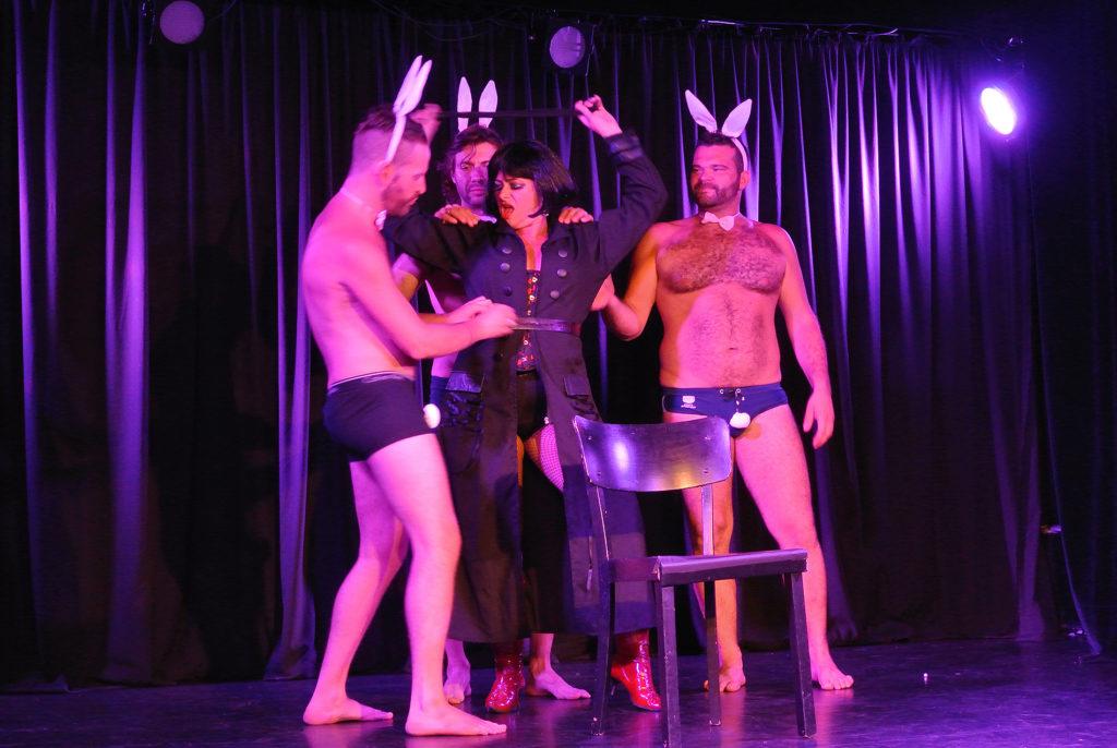 DeafBurlesque Show Auftritt 2012