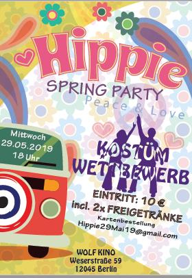 HippieParty Plakat 2019