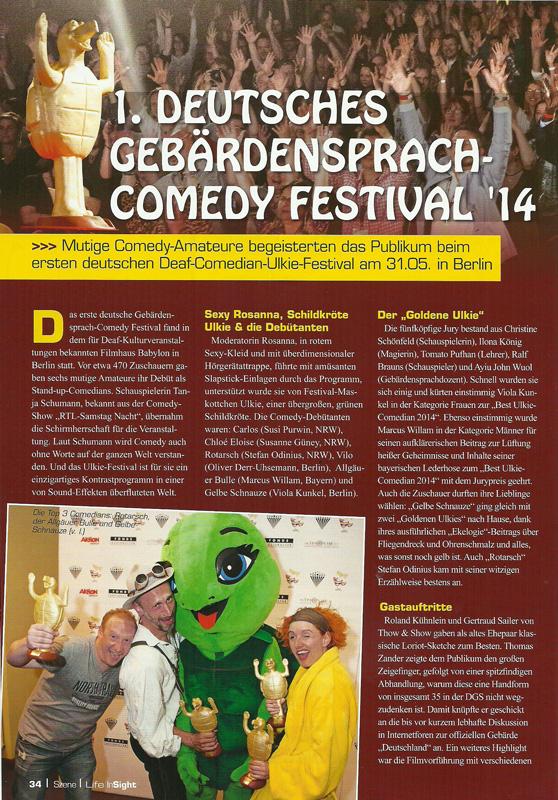 1. Deutsches Gebärdenfestival