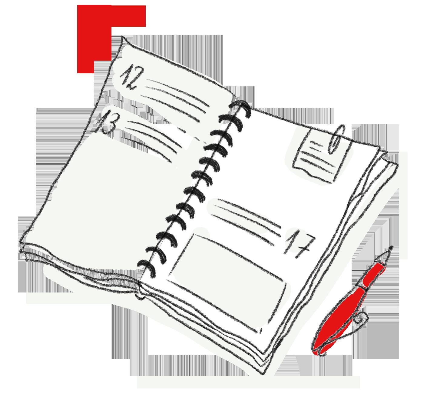 Planungsunterstützung bei Projekten